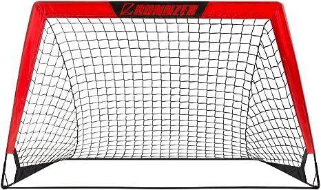 Instant Pop Up Net Regulation Football Soccer Net Sports Replacement Soccer Goal Post Net for Sports Match Training HURRISE Portable Soccer Goal