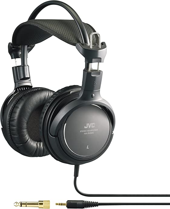 JVC 杰伟世 HA-RX900 高保真HiFi监听耳机 4折$40.41史低 海淘转运到手约¥322