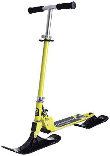 Amazon.com: Stiga Snow Kick Scooter (Lime Green): Toys & Games