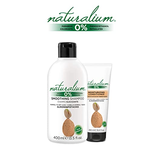 Naturalium PACK Cuidado Capilar Coco - Kit para el Cabello con Champú Suavizante 400 ml + Mascarilla Pelo 200 ml + Acondicionador Hidratante 250 ml: ...