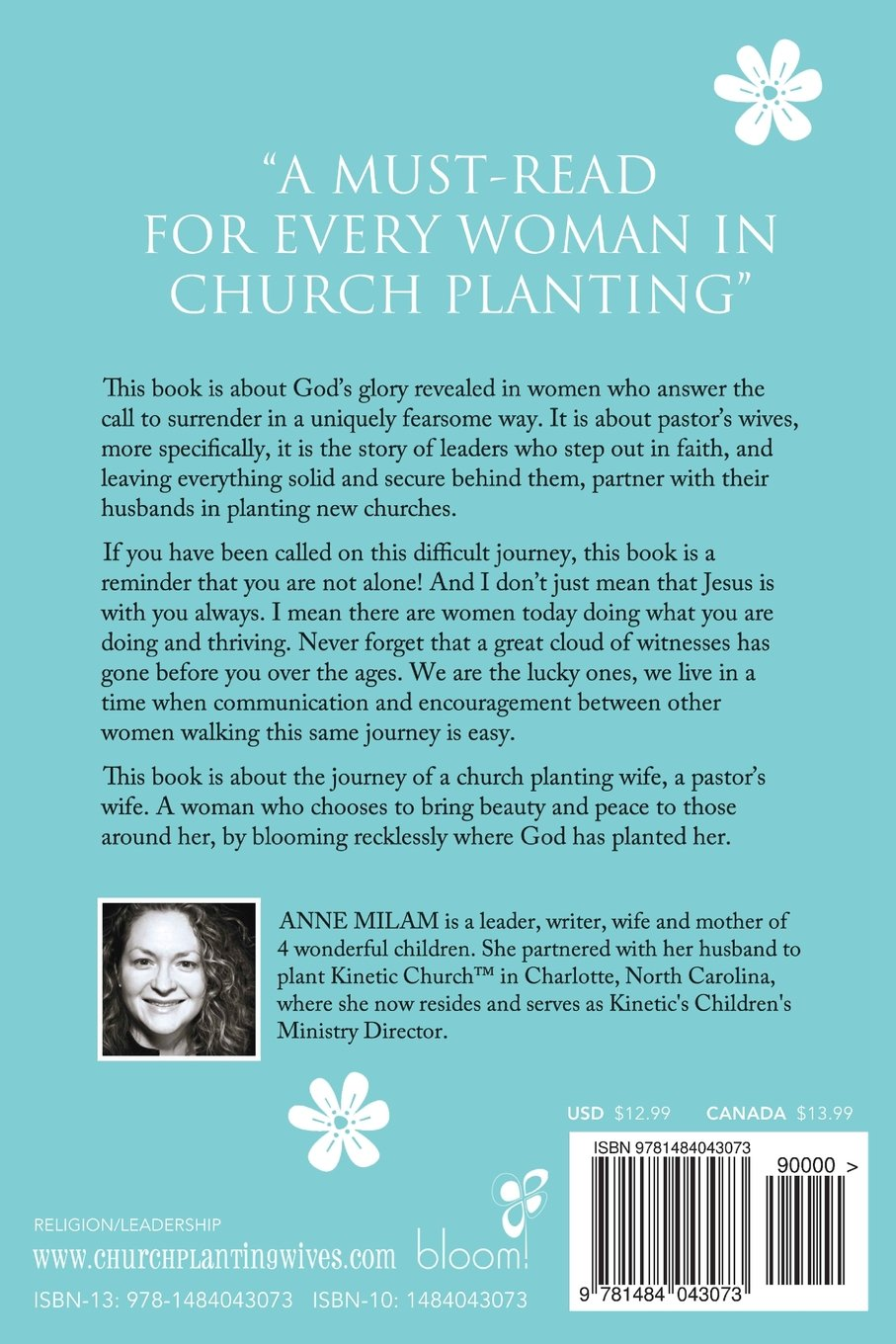 Amazon.com: Bloom Where You're Planted: Stories of Women in Church Planting  (9781484043073): Anne Milam: Books