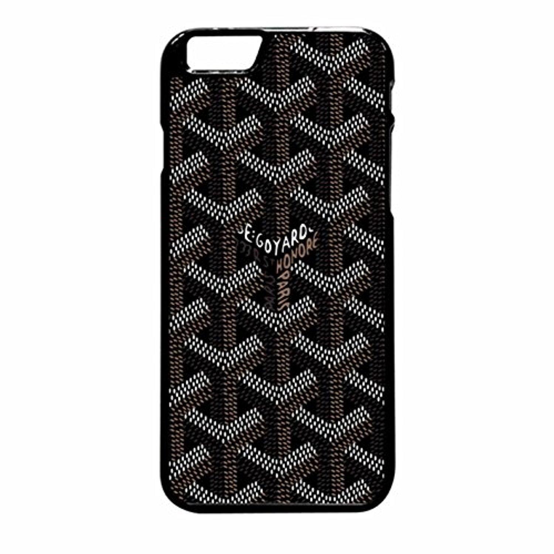 designer fashion e3189 3924d Goyard Black Case / Color Black Plastic / Device iPhone 6 Plus/6s ...