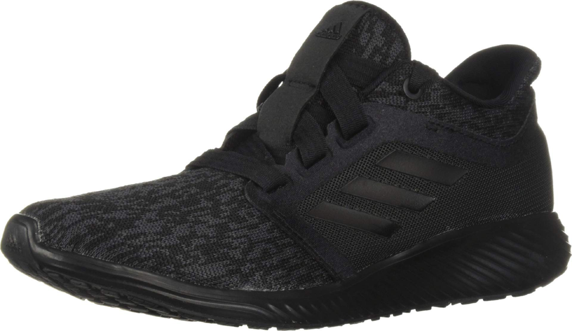 adidas Women's Edge Lux 3, Black/Carbon, 5 M US