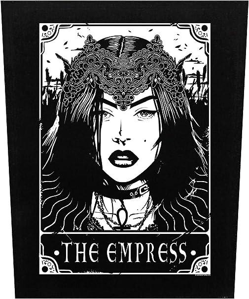 Deadly Tarot Back Patch The Emperor Black 29.5x36cm