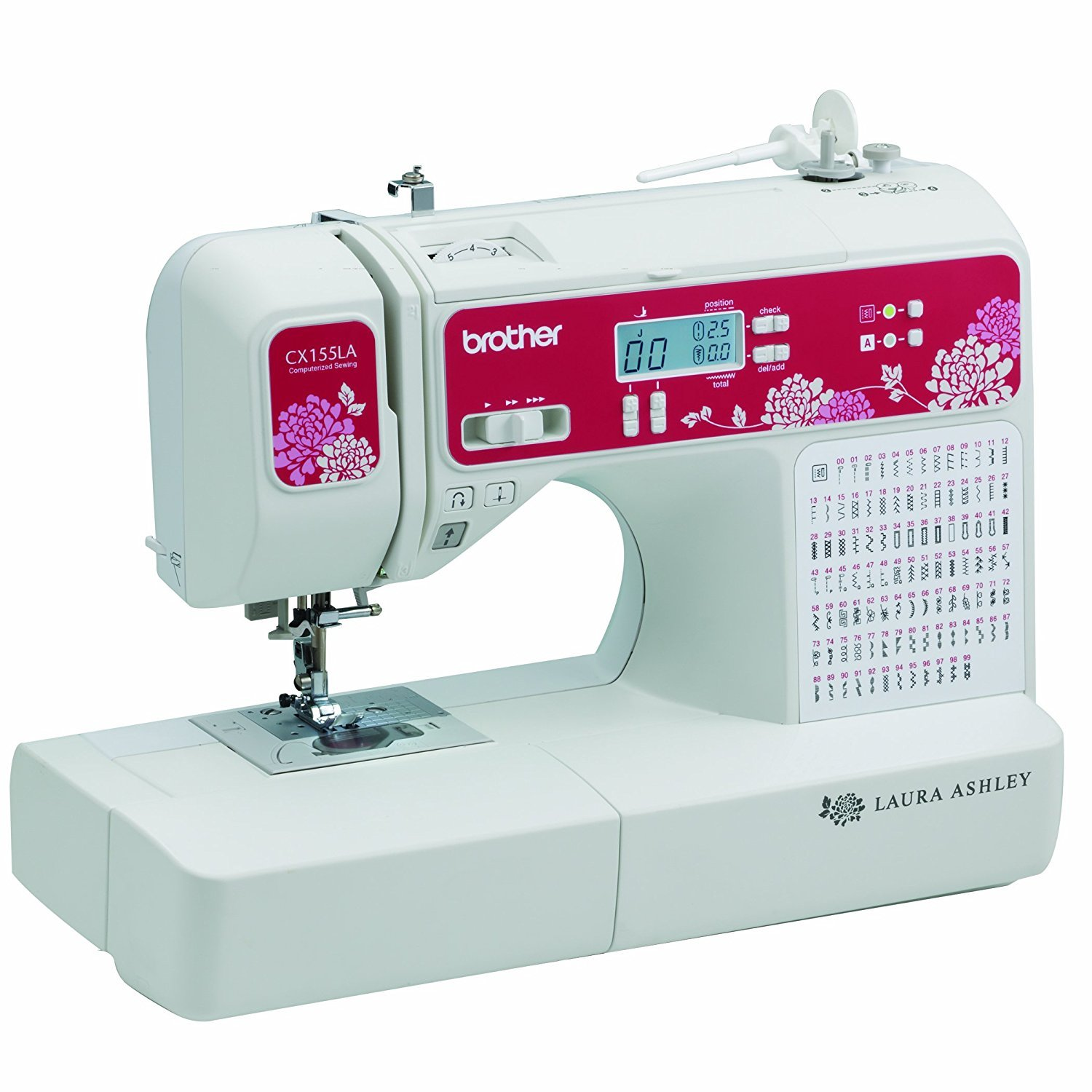 Brother Sewing Laura Ashley CX155LA Limited Edition Sewing & Quilting Machine with Built-in Sewing Font ブラザーソーイングローラーアシュリーCX155LA限定版ソーイング&キルティングマシン内蔵の縫製フォント [並行輸入品]   B07CBZRX7H