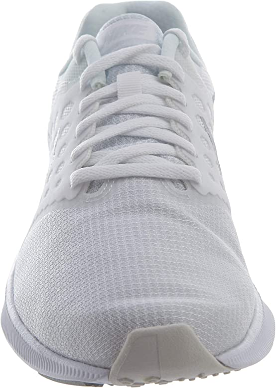 Nike Downshifter 7, Zapatillas de Running Hombre, Blanco (White/Pure Platinum), 45.5 EU: Amazon.es: Zapatos y complementos
