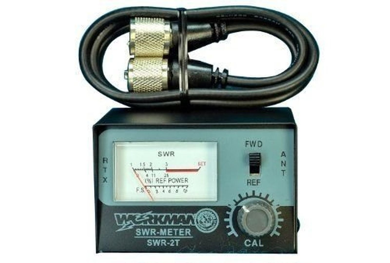 Amazon Swr Meter For Cb Radio Antennas With 3 Jumper Cable
