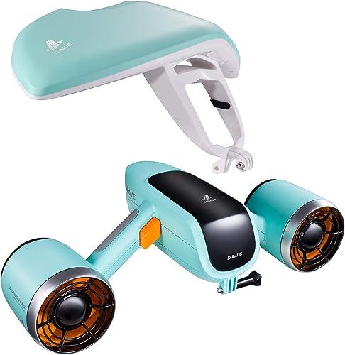 Underwater Scooter with Waterproof Action Camera [Windek] Picture