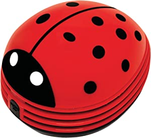 Starfrit 080603-004-0000 Lady Bug Design Mini Table Cleaner/Vacuum, Red