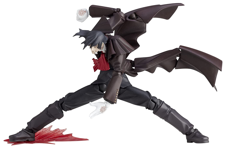 Revoltech Series No.114 Alucard (14 cm PVC Figure) Kaiyodo Hellsing [JAPAN] (japan import)