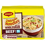 MAGGI 2 Minute Noodles, Wholegrain Beef, 5 Pack, 335g