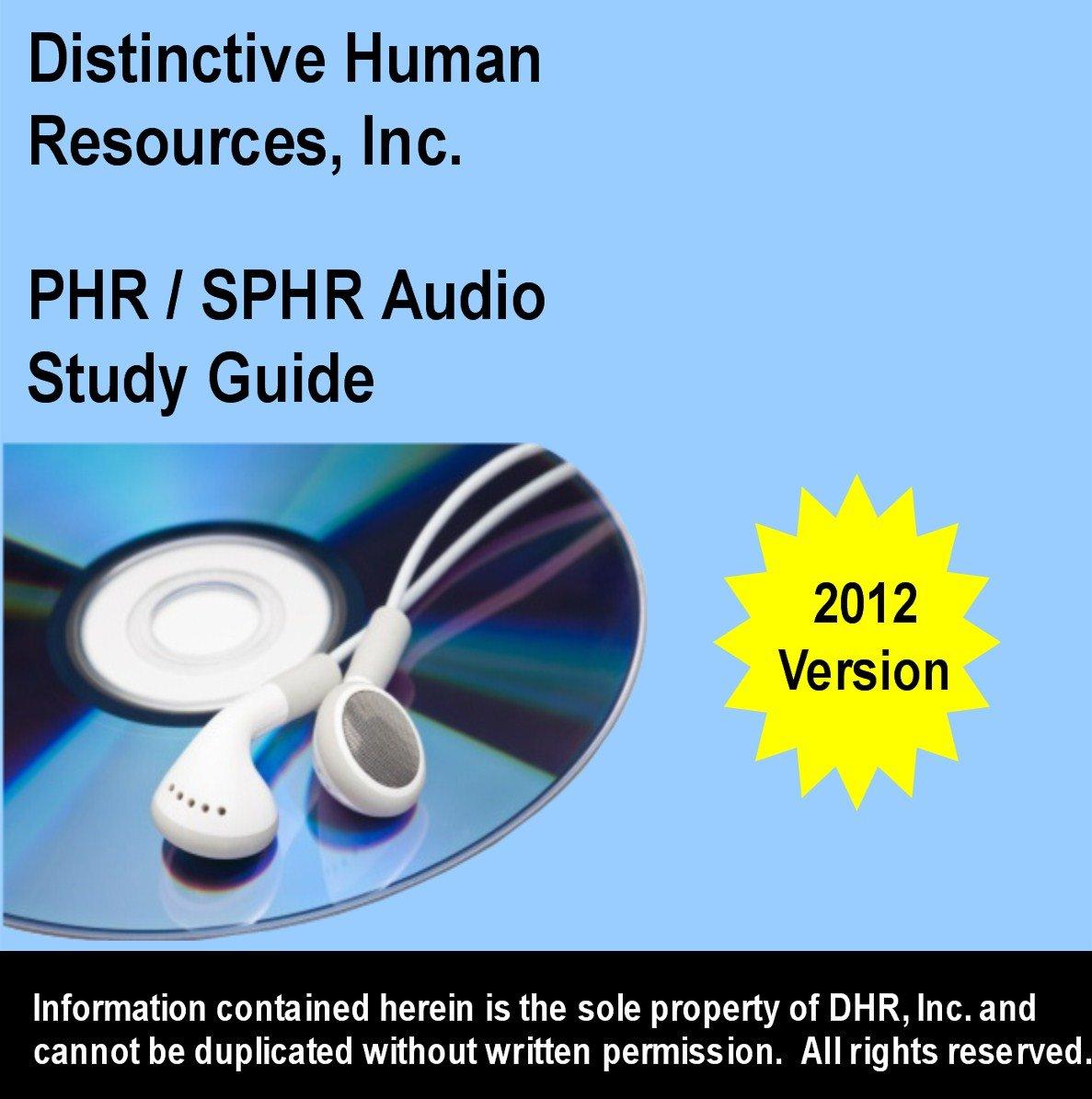 Phr Sphr Audio Study Guide 2012 David Siler Amazon Books