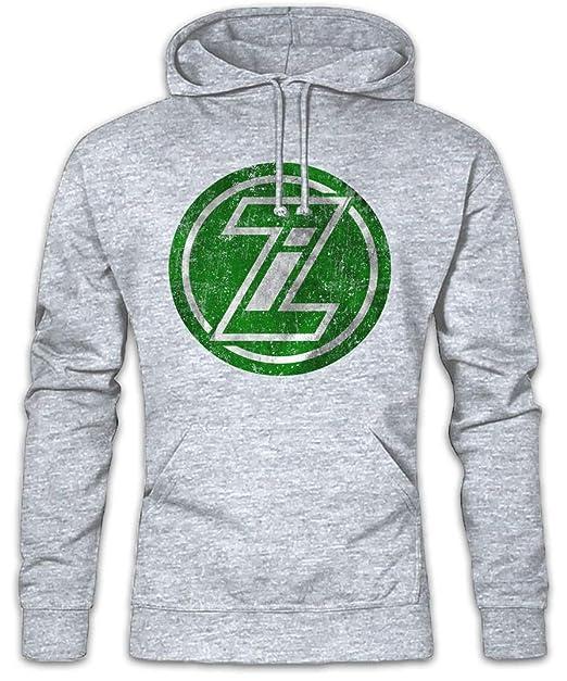 Zorin Industries II Hoodie Sudadera con Capucha Sweatshirt - Marca Empresa Firma fábrica Consorcio Grupo Emblema Tamaños S - 2XL: Amazon.es: Ropa y ...