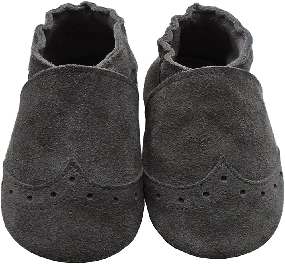 Yalion Baby Soft Sole Leather Shoes Infant Toddler Tassels Moccasin Pre-Walkers Crib Shoes 24-36 Months,Khaki