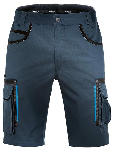Multibolsillos Elasticos Construccion Pantal/ón de Trabajo REIS Pantalones de Seguridad Negros para Hombre