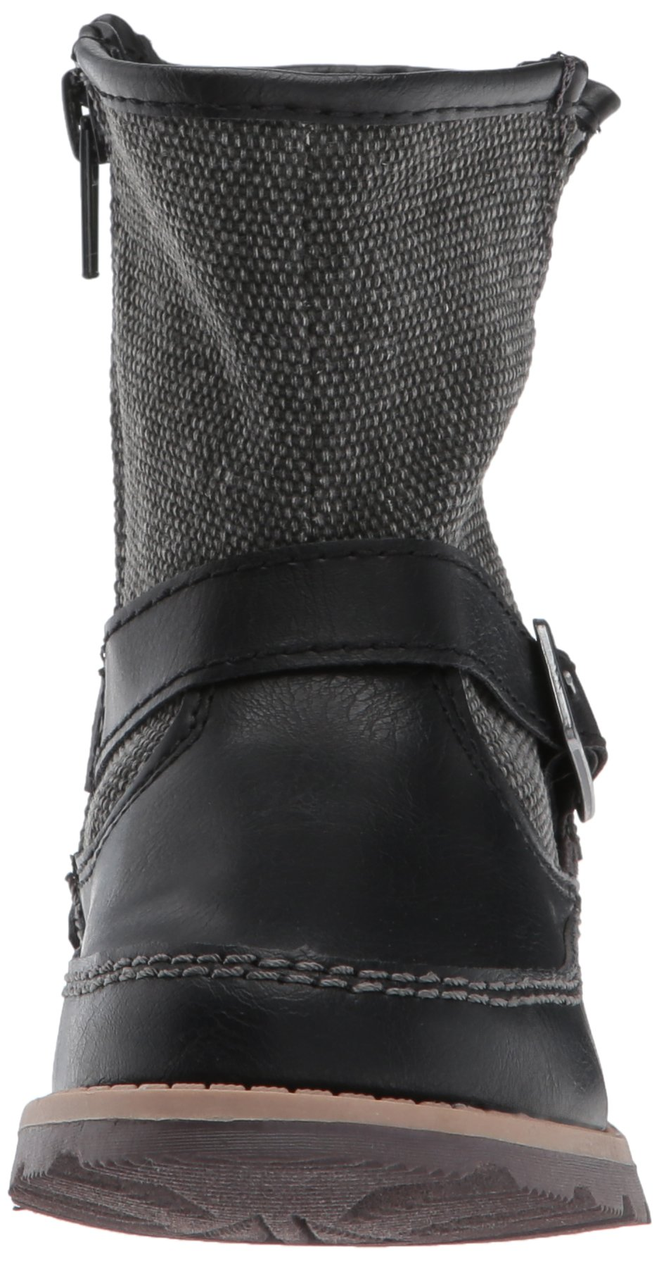 Carter's Boys' Galaway Fashion Boot, Black/Grey, 11 M US Little Kid by Carter's (Image #4)