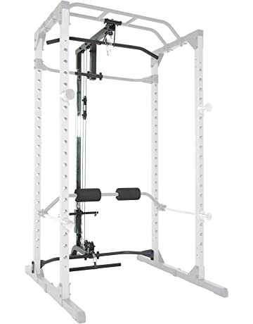 c4db4efcc7 Fitness Reality 810XLT Super Max Power Cage with Optional Lat Pull-down  Attachment