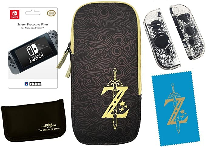 Hori - Zelda Starter Kit (Nintendo Switch): Amazon.es: Videojuegos