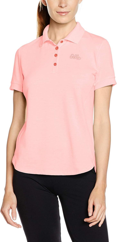 ODLO Womens Polo Shirt S//S Trim