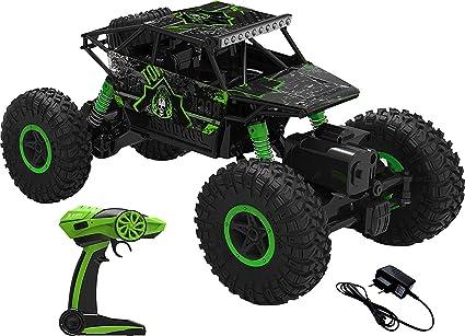 ARHA IINTERNATIONAL 1:18 Rechargeable 4Wd 2.4GHz Rock Crawler Off Road R/C Car Monster…