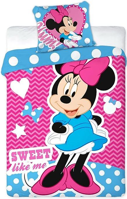 Sacco Copripiumino Disney.Sacco Copripiumino 1 Federa Disney Minnie Per Culla 100x135