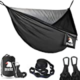 Covacure Camping Hammock with Net - Lightweight Double Hammock, Hold Up to 772lbs, Portable Hammocks for Indoor, Outdoor, Hik