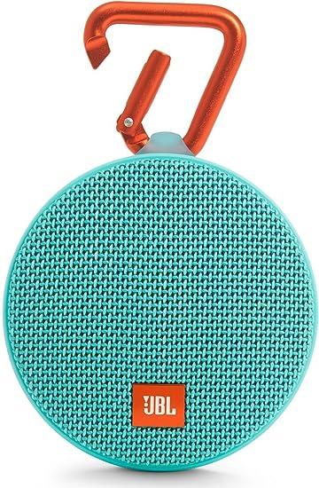JBL Clip 2 Waterproof Portable Bluetooth Wireless Speaker Blue