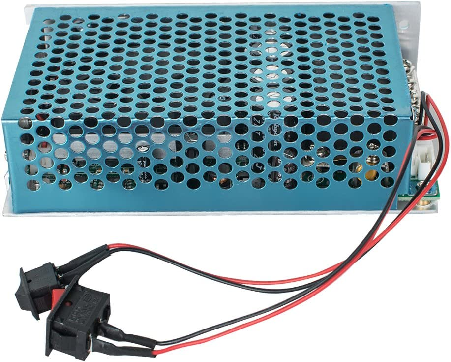 Digital 0~100/% PWM Motor Speed Controller DC 12V 24V 36V 48V 40A Time Reversible