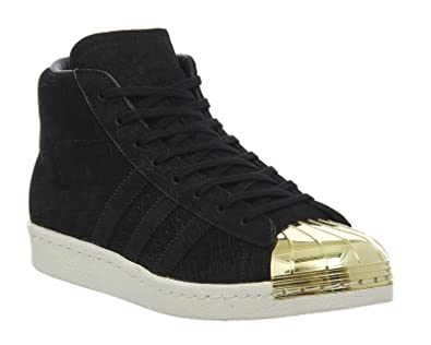 quality design 3f1dd ed33a adidas Originals Superstar Pro Model Metal Toe Chaussures Noir S81466,  Taille 38