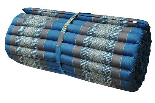 Roll colchón de ceiba tailandés 2 p., alfombra, extra ...