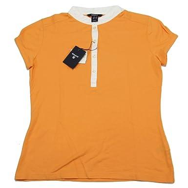 unik design försäljning av skor försäljning Storbritannien GANT 1301.405129 Polo Shirt Short Sleeves Women Orange 845 XS:  Amazon.co.uk: Clothing
