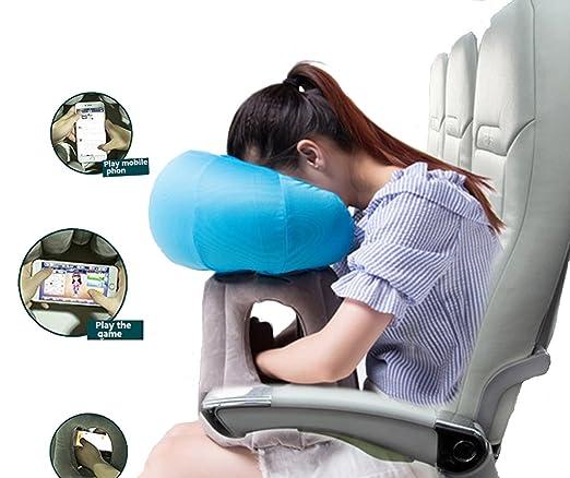 alinkz inflable almohada de viaje almohada cervical, avión ...