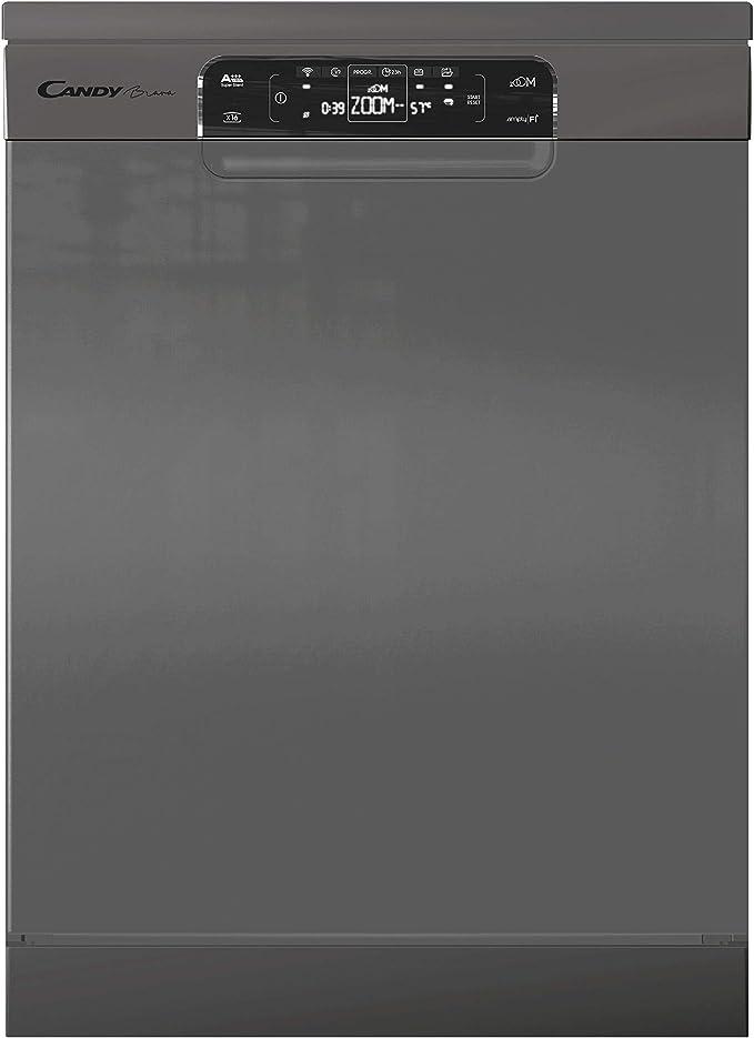 Candy Brava CDPMN 4S622PX - Lavavajillas 60 cm independiente, 16 ...