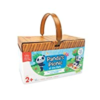 Peaceable Kingdom Games for Parents & Their 2-Year-olds: Panda's Picnic in The Park - Toddler & Preschool Board Game of Matching Colors & Shapes