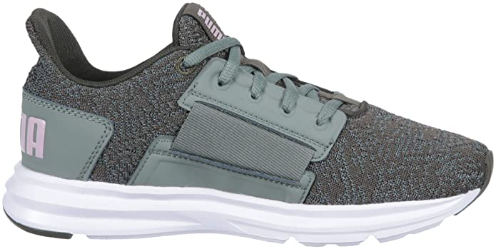 Amazon.com | PUMA Womens Enzo Street Knit Interest Sneaker, | Fashion Sneakers