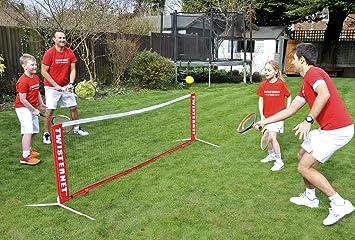1f404ed2f Red de tenis de 3 m para niños, mini red de tenis infantil, juego de ...