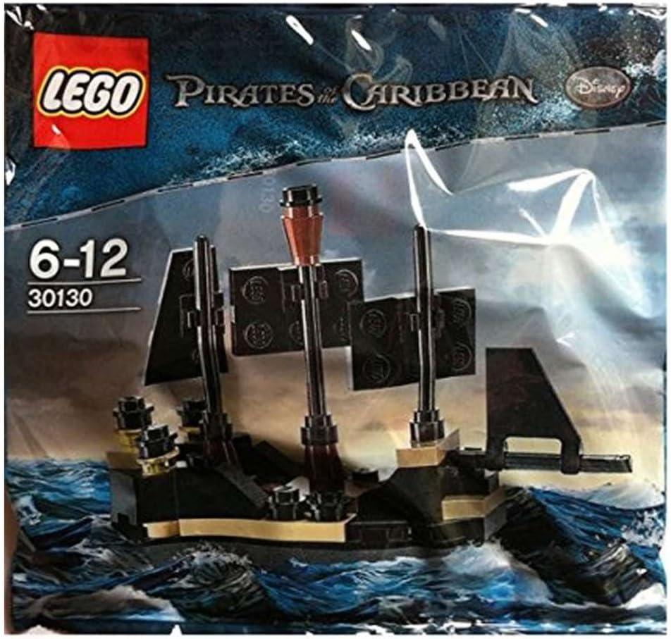LEGO Mini Black Pearl Pirates of the Caribbean Set 30130
