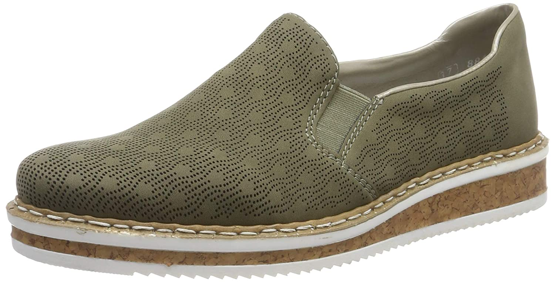 Rieker N0361 54, Mocassins Femme: : Chaussures et Sacs