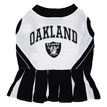 b630f084e Amazon.com   Oakland Raiders NFL Cheerleader Dress For Dogs - Size X-Small    Pet Supplies