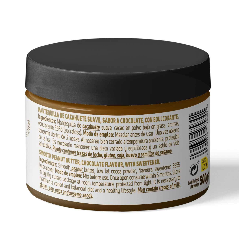 Crema de Cacahuete de HSN Foods, 100% Natural, Smooth Peanut Buter, Sin Aceite de Palma, Fuente de Fibra, Proteínas Vegetales, Ácidos Grasos ...