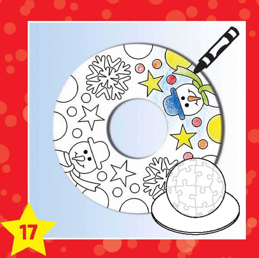 Advent calendar Ravensburger Create Your Own Christmas Decorations