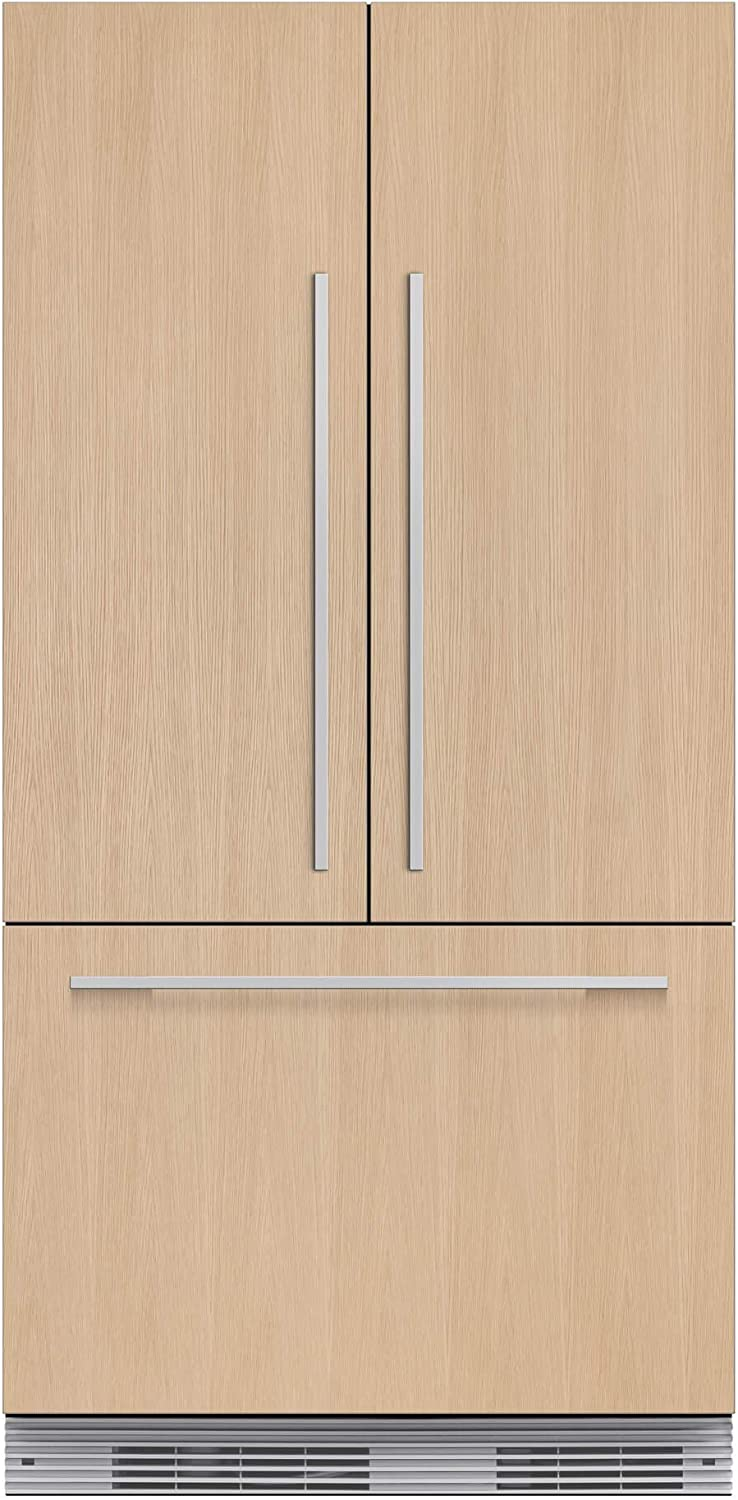 "Fisher Paykel RS36A72J1 36"" Star K Energy Star Built-In French Door Refrigerator with 16.8 cu. ft. Capacity 72"" Tall ActiveSmart Foodcare Adaptive Defrost Fast Freeze and LED Lights: Panel"