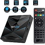 Percrocuta Android TV BOX ー4K 高精細 アンドロイド9.0 Wifi テレビボックス 4GB RAM 32GB ROM 搭載 WIFI 2.4GHz 経由