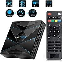 Percrocuta Android TV Box Quad Core 64-bit 4GB RAM 32GB ROM Internet TV Box UHD Set Top Box Ott Smart TV Box