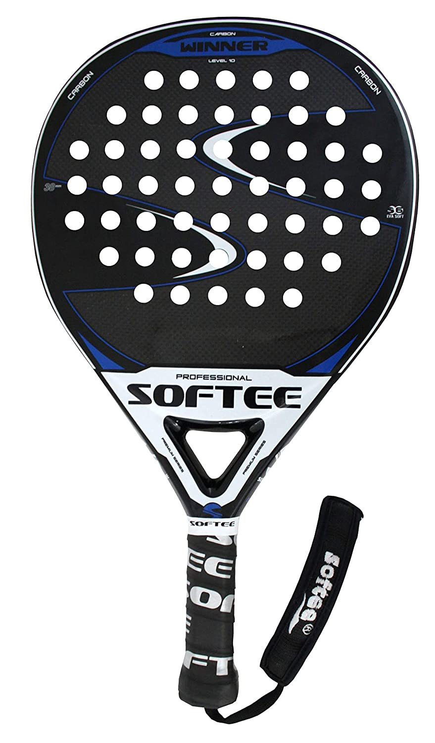 Pala Padel Softee Winner Blue: Amazon.es: Deportes y aire libre
