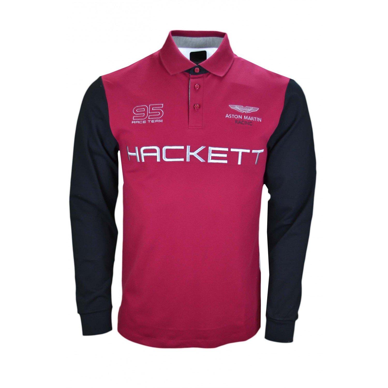 Hackett London - Polo - Blusa - para hombre rojo M : Amazon.es ...