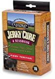 Eastman Outdoors Jerky Cure & Seasoning - Fiery Teriyaki (Seasoning and Cure Makes 15 Pounds)