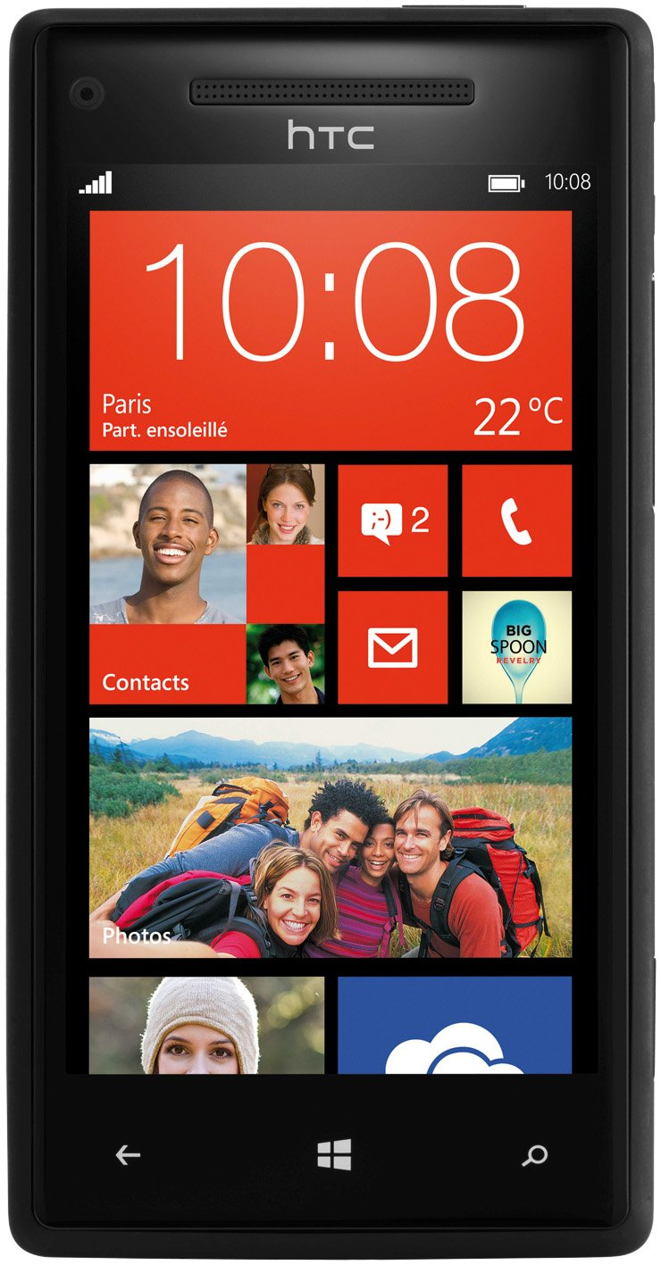 Smartphone HTC WINDOWS PHONE 8X NOIR 16GO