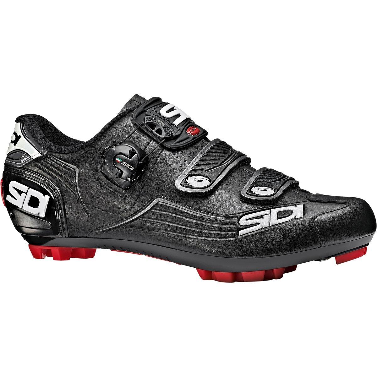 Sidi Trace Mountain Bike MTB Bicycle Shoes Black (39)