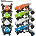 4 Pack Laser Tag Guns Sets